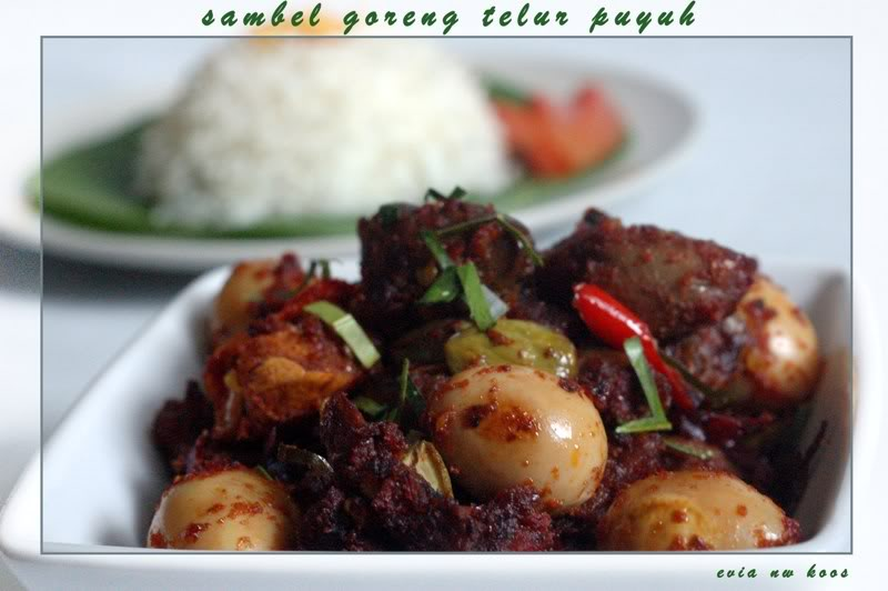 spicy Indonesian food