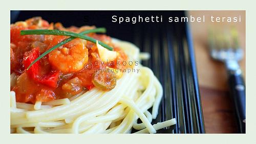 Spaghetti sambel terasi