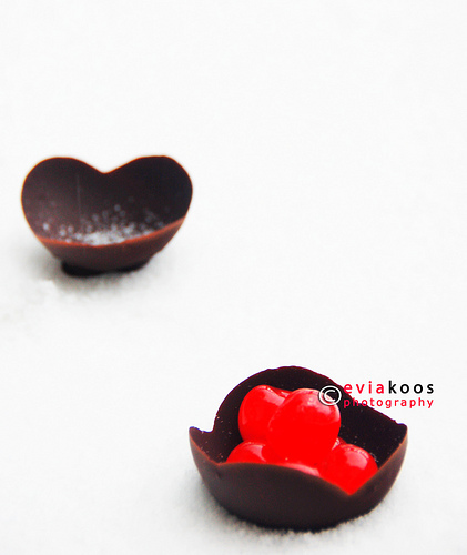 Edible bowl - chocolate