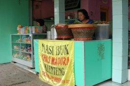 Nasi buk Madura - warung tampak depan warung