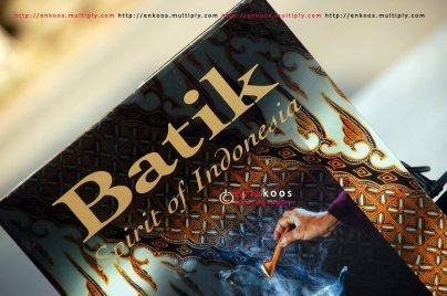 5. Batik, Spirit of Indonesia. Sama dengan nomer 1.
