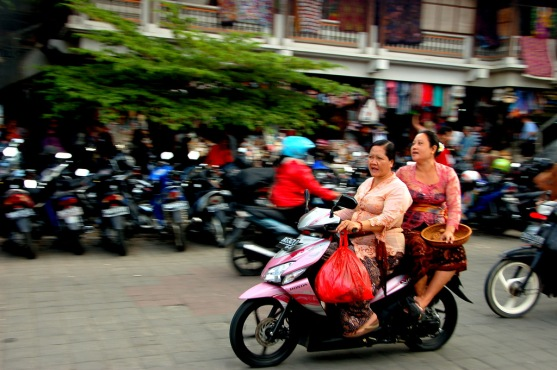 Ladies in Bali, Indonesia