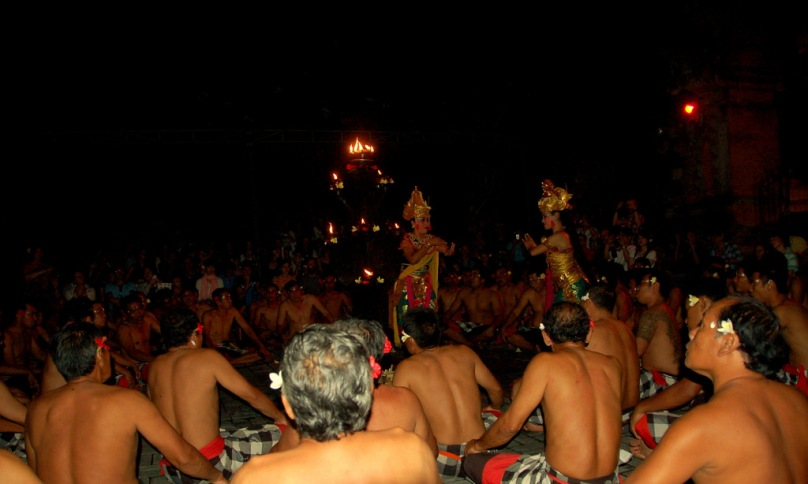 Kecak dance - Bali, Indonesia