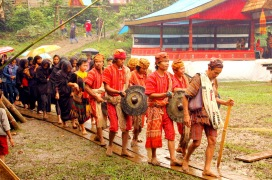 Rambu Solo', funeral ceremony in Toraja, South Sulawesi, Indonesia