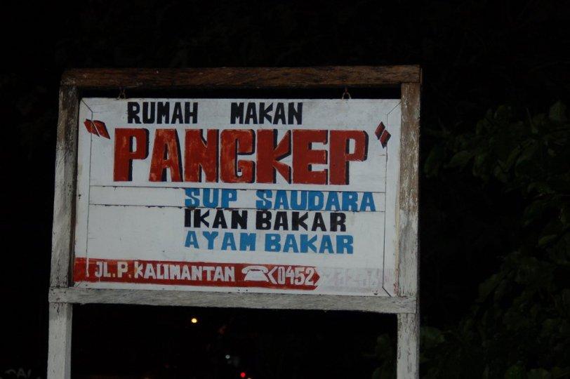 14. Rumah makan Pangkep.