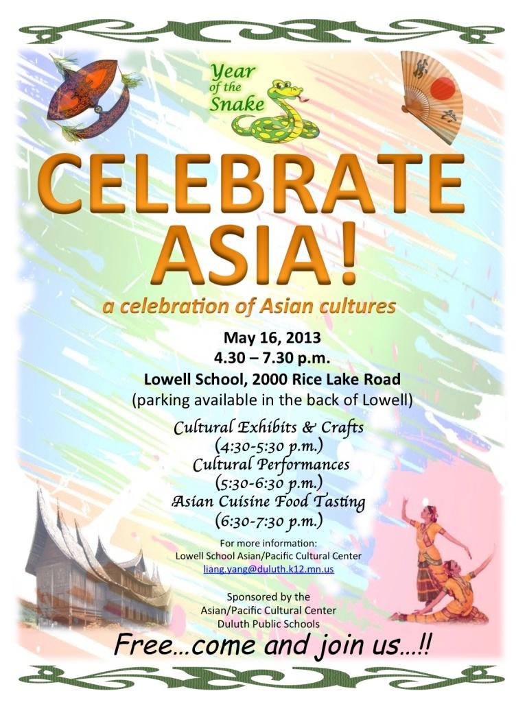 Celebrate Asia!