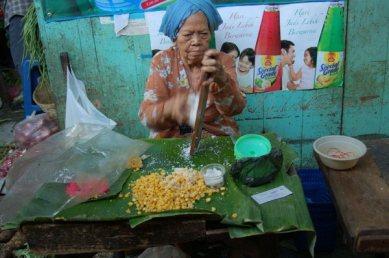 Jajan pasar (Gronthol jagung)