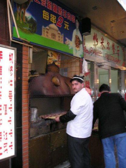 Kebab Xinjiang.
