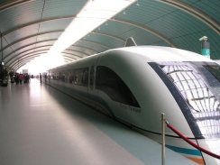 Maglev train Shanghai.