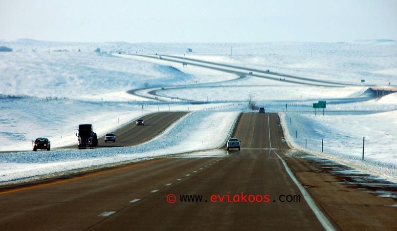 Bukan, ini bukan di Minnesota tetapi di North Dakota kalau gak salah. Atau Montana. Salah satu dari dua itu deh.